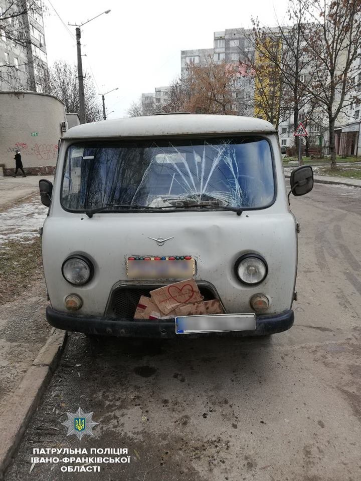 У Франківську знайшли водія авто, котрий в нетверезому стані збив пішохода та зник з місця пригоди (фото)
