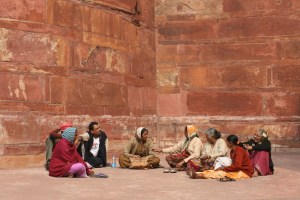 Rooifort, Agra. ©m.o.