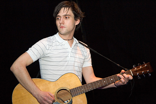 Conor Oberst at the ULU (Compliments of Andrew Kendall, all rights reserved)