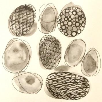 19 illustration galets