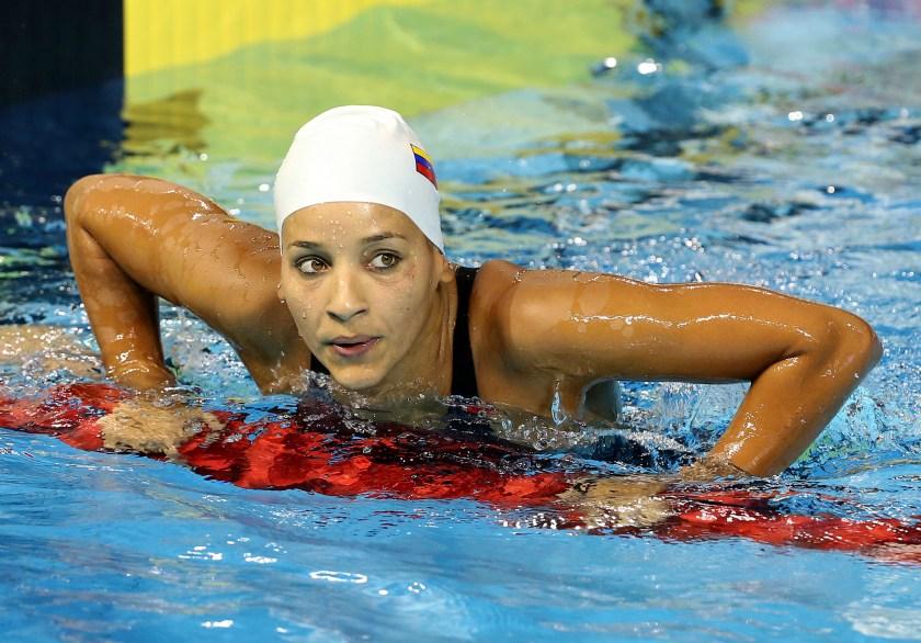 La 'sirena' Andreína Pinto se sacude la presión – Diario Versión Final