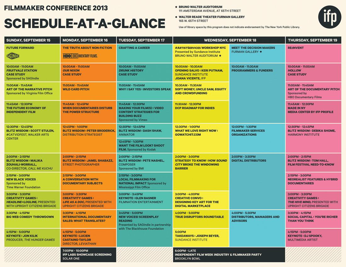 radio program schedule template
