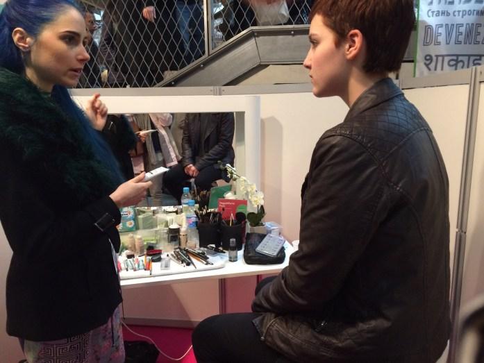 Station maquillage