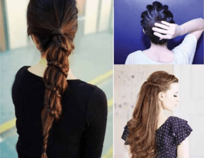 Five Minutes Monsoon Hairstyles