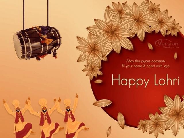 Happy lohri 2021 hd images in hindi