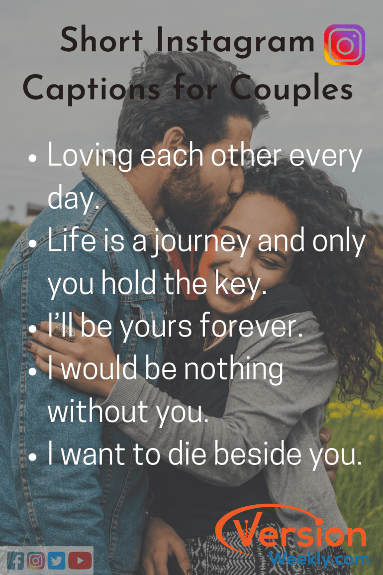 Short IG Quotes for Couples