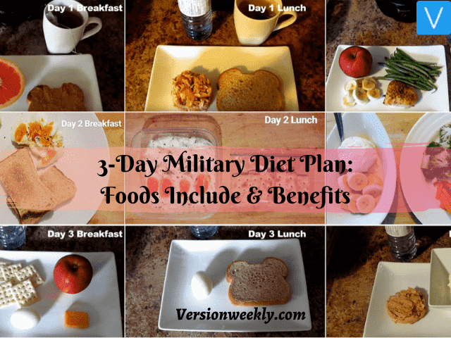 3-day military diet_what to eat