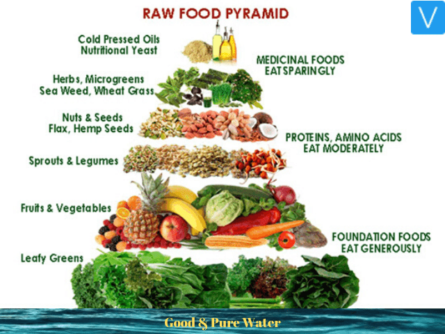 Raw Food Diet Chart