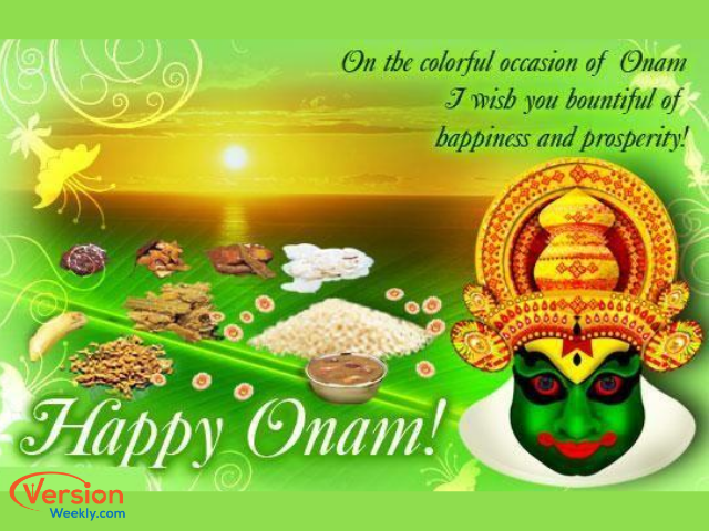 Onam special wishes image