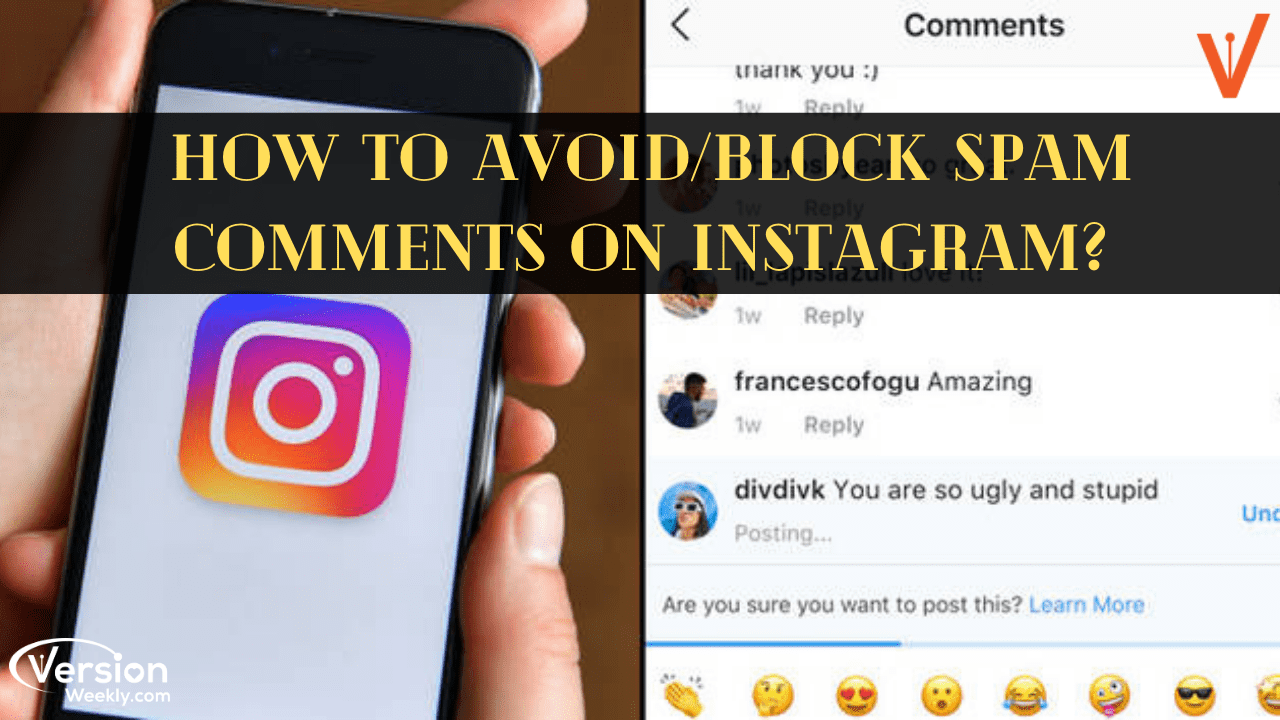 how to instantly stop spam comments on Instagram
