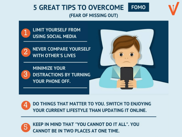 Tips to get rid from FOMO