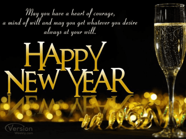 happy new year quote message for greetings