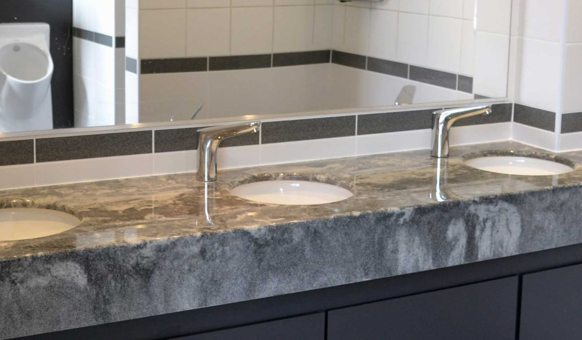 high quality stone resin vanity tops