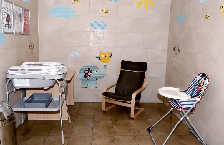 Vaiko vystymo ir maitinimo kambarys