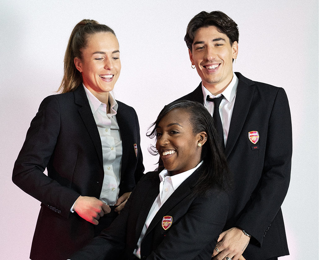 arsenal women will wear hector bellerin