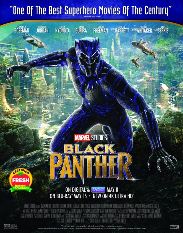 Black Panther-Home Ent