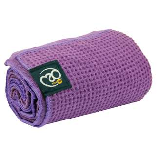 Serviette tapis de Yoga antidérapante Yoga-Mad purple