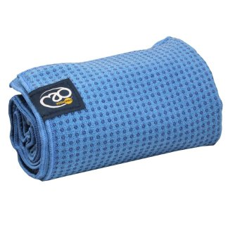 Serviette tapis de Yoga antidérapante Yoga-Mad sky blue