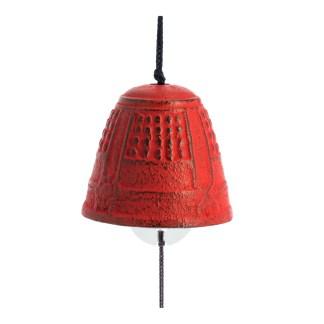 Cloche furin Feng shui rouge Iwachu