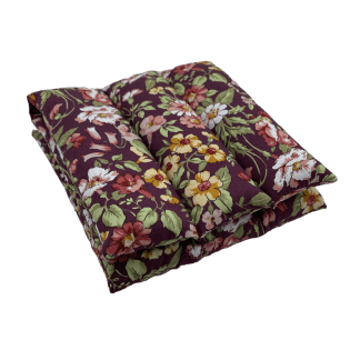 Bouillotte à graines de lin à motif Fleurs champêtres