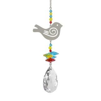 Fantaisie de cristal colombe de la paix Woodstock Chimes