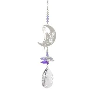 Fantaisie de cristal fée de la lune Woodstock Chimes
