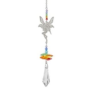 Fantaisie de cristal fée Woodstock Chimes