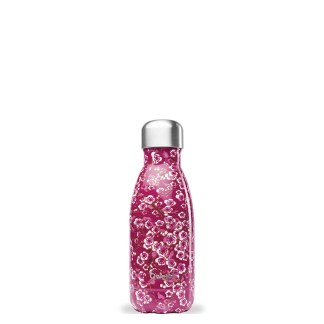 Bouteille Flowers Rose Qwetch 260ml
