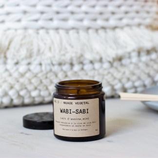 Bougie parfumée N°03 Nuage Végétal 90g/25h Wabi-Sabi