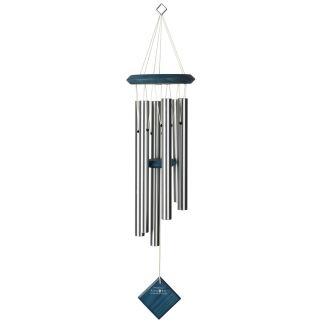 Carillon à vent Pluton Argenté bleu Woodstock Chimes