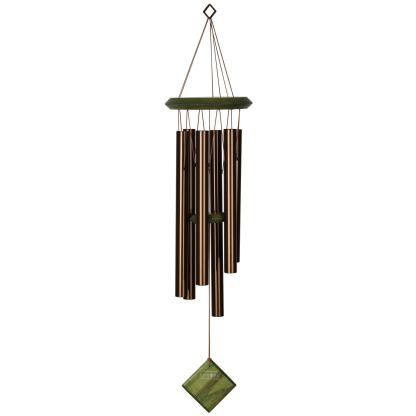 Carillon à vent Pluton bronze vert Woodstock Chimes