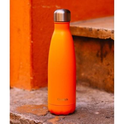 Bouteille Pop orange Qwetch décor