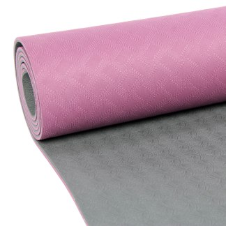Tapis de Yoga Evolution Yoga Mat 4mm Yoga-Mad aubergine