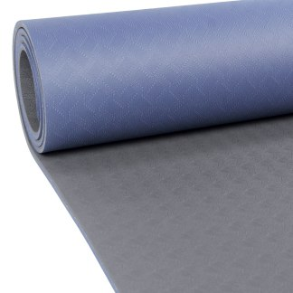 Tapis de Yoga Evolution Yoga Mat 4mm Yoga-Mad bleu