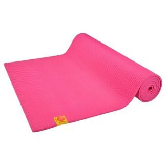 Tapis de yoga Non-Toxique Chin Mudra rose indien