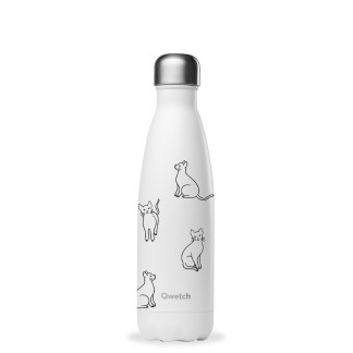 Bouteille Pretty cats Qwetch 500ml