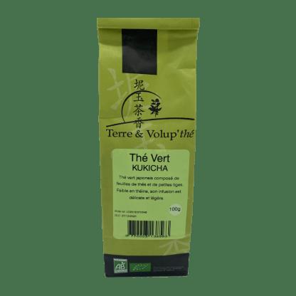 Thé vert Kukicha bio Terre & Volup'thé