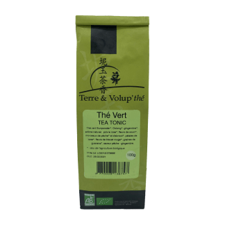 Thé vert Tea tonic bio Terre & Volup'thé