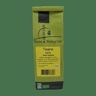 Tisane Vata bio Terre & Volup'thé