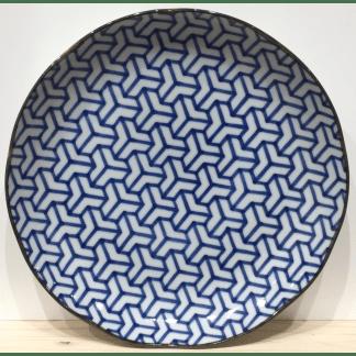 Assiette bleu de Chine N°03