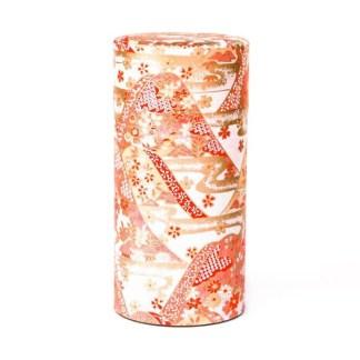 Boîte à thé Offrande rose 150g