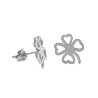 Boucles d'oreilles Trèfles Les Cleias