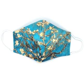 Masque en tissu Amandier en fleurs de van Gogh