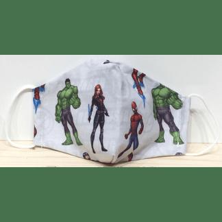 Masque pour enfant Super-héros Marvel