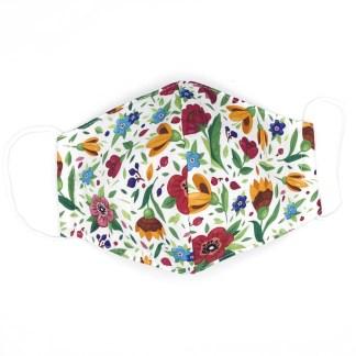 Masque en tissu Fleurs N°08