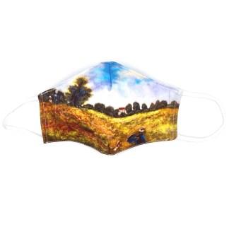 Masque en tissu Les coquelicots de Monet