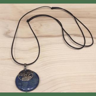 Médaillon Lapis-lazuli Arbre de vie