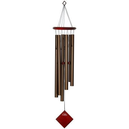 Carillon à vent Terre bronze bubinga Woodstock Chimes