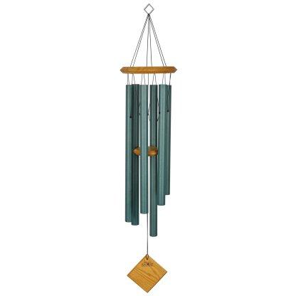 Carillon à vent Terre vert-de-gris bubinga Woodstock Chimes