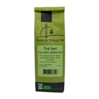Thé vert Digestion bio Terre & Volup'thé